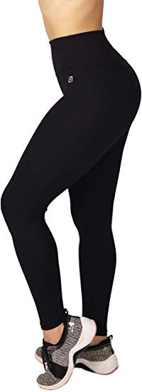 Lotux Premium Essential Leggings High Waisted Tummy Control Yoga Pants Squat Proof Durable
