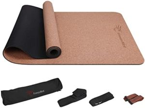 Best Most Affordable FrenzyBird Cork Yoga Mat