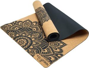 Best for Hot Yoga Yoga Design Lab Cork Yoga Mat