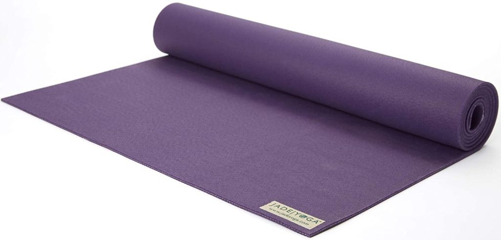 Jade Travel Yoga Mat Ideal for Practice Everywhere