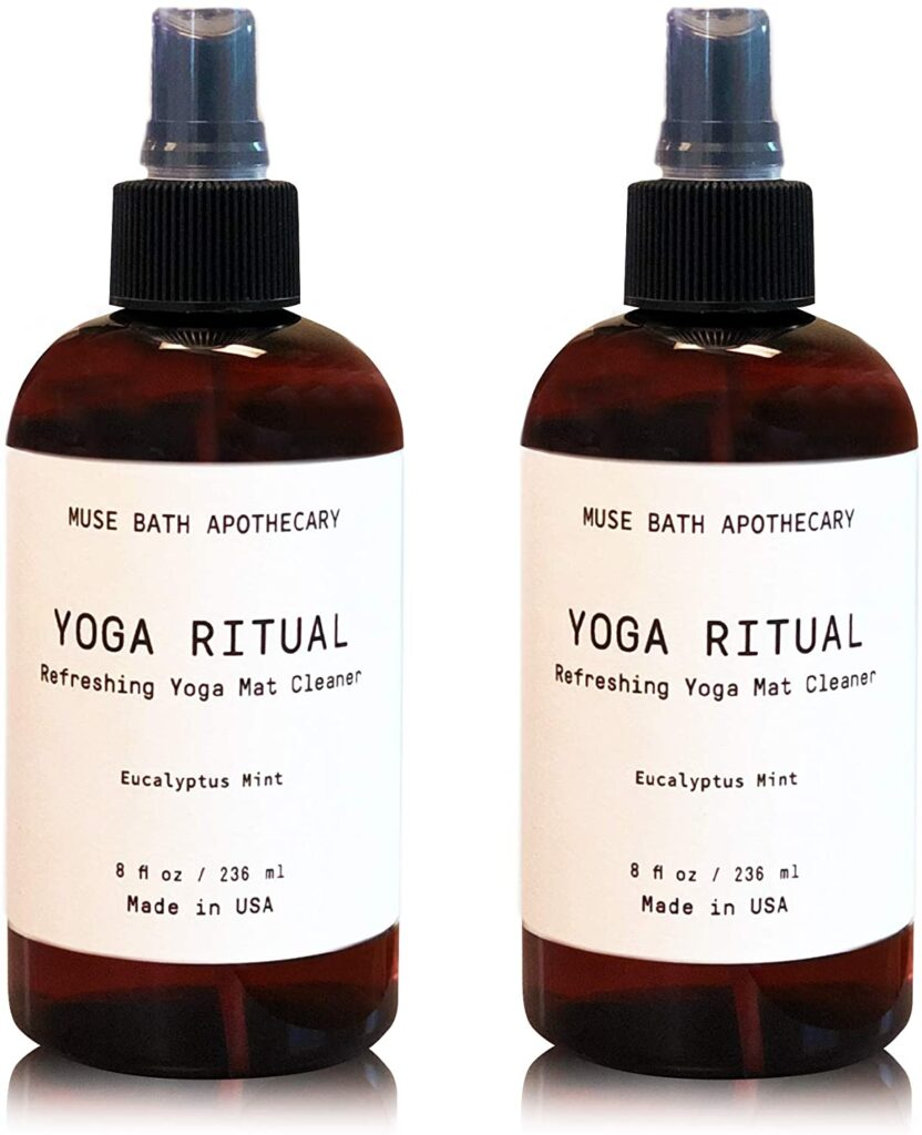 Great Combination of Organic with Vegan Muse Bath Apothecary Yoga Ritual Refreshing Yoga Mat Cleaner