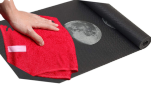 Wash Your Yoga Mat With Soft Cloth:
