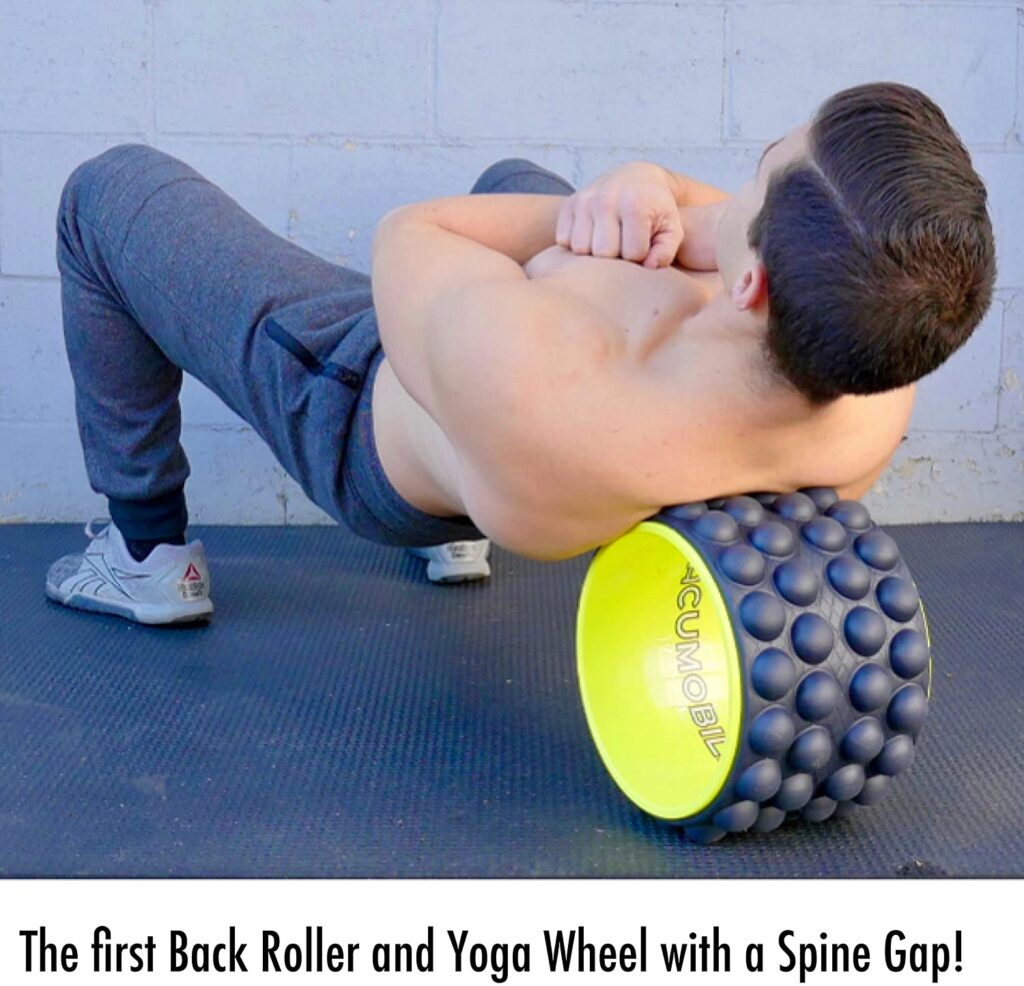 The Ultimate Back Roller for home workout