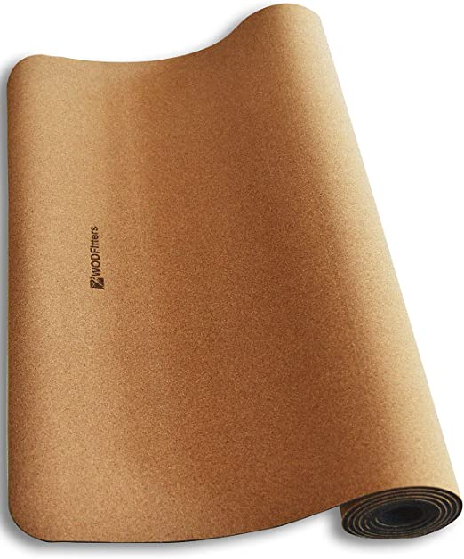 Best for Bikram Yoga: WODFitters All Natural Eco-Friendly Cork Yoga Mat
